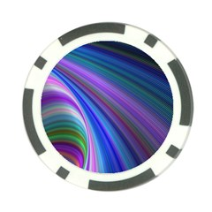 Background Abstract Curves Poker Chip Card Guard