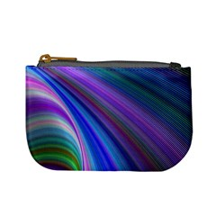 Background Abstract Curves Mini Coin Purses
