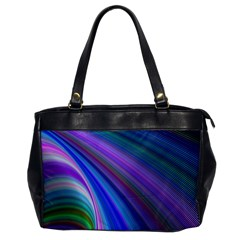 Background Abstract Curves Office Handbags