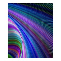 Background Abstract Curves Shower Curtain 60  X 72  (medium)