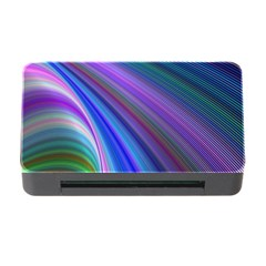 Background Abstract Curves Memory Card Reader With Cf