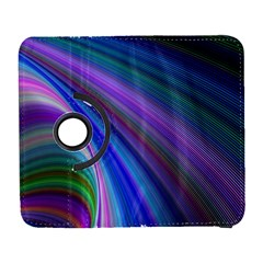 Background Abstract Curves Samsung Galaxy S  Iii Flip 360 Case