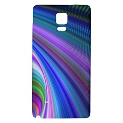 Background Abstract Curves Samsung Note 4 Hardshell Back Case