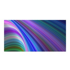 Background Abstract Curves Satin Wrap