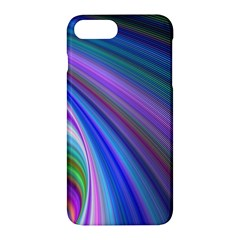 Background Abstract Curves Apple Iphone 7 Plus Hardshell Case by Nexatart