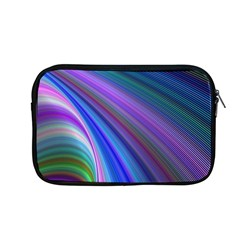 Background Abstract Curves Apple Macbook Pro 13  Zipper Case