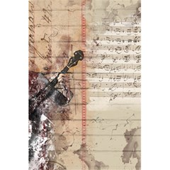 Art Collage Design Colorful Color 5 5  X 8 5  Notebooks