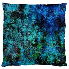Color Abstract Background Textures Large Flano Cushion Case (two Sides) by Nexatart