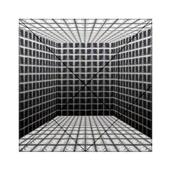 Space Glass Blocks Background Acrylic Tangram Puzzle (6  X 6 )