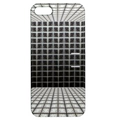 Space Glass Blocks Background Apple Iphone 5 Hardshell Case With Stand