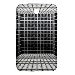 Space Glass Blocks Background Samsung Galaxy Tab 3 (7 ) P3200 Hardshell Case  by Nexatart