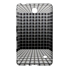 Space Glass Blocks Background Samsung Galaxy Tab 4 (7 ) Hardshell Case  by Nexatart