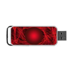Abstract Scrawl Doodle Mess Portable Usb Flash (two Sides)