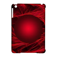 Abstract Scrawl Doodle Mess Apple Ipad Mini Hardshell Case (compatible With Smart Cover)