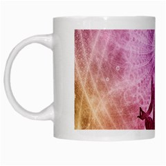 Meditation Spiritual Yoga White Mugs