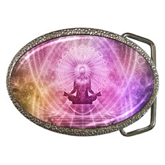 Meditation Spiritual Yoga Belt Buckles