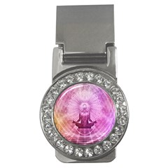 Meditation Spiritual Yoga Money Clips (cz)  by Nexatart