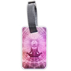 Meditation Spiritual Yoga Luggage Tags (one Side)