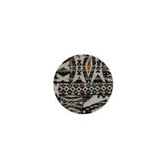 Fabric Textile Abstract Pattern 1  Mini Magnets