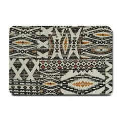 Fabric Textile Abstract Pattern Small Doormat