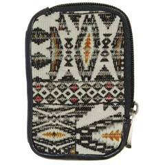 Fabric Textile Abstract Pattern Compact Camera Cases
