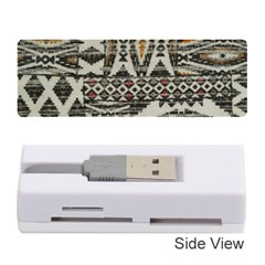 Fabric Textile Abstract Pattern Memory Card Reader (stick)
