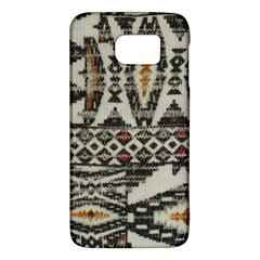 Fabric Textile Abstract Pattern Samsung Galaxy S6 Hardshell Case