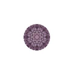 Mandala Pattern Fractal 1  Mini Buttons