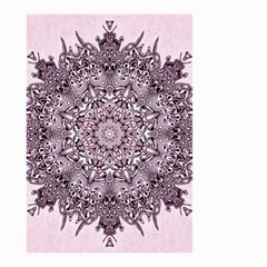 Mandala Pattern Fractal Small Garden Flag (two Sides)