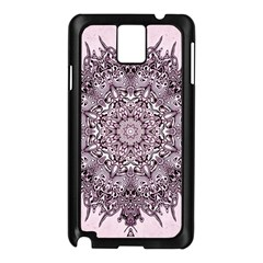 Mandala Pattern Fractal Samsung Galaxy Note 3 N9005 Case (black)