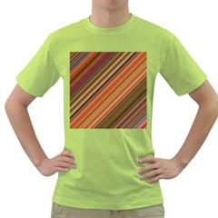 Background Texture Pattern Green T Shirt