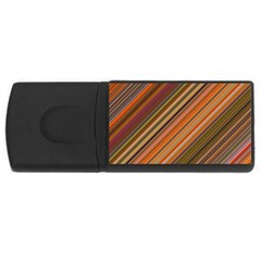 Background Texture Pattern Rectangular Usb Flash Drive