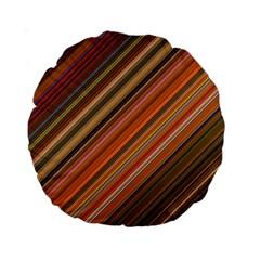 Background Texture Pattern Standard 15  Premium Round Cushions