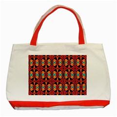 Artworkbypatrick1 C 3 Classic Tote Bag (red)