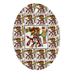 1 Oval Ornament (two Sides)