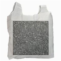 Code Recycle Bag (two Side)