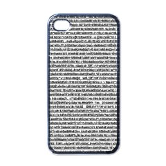 Code Apple Iphone 4 Case (black)