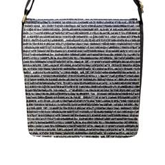 Code Flap Messenger Bag (l)
