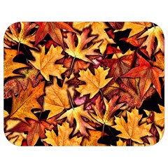 Fall Leaves Pattern Full Print Lunch Bag by bloomingvinedesign