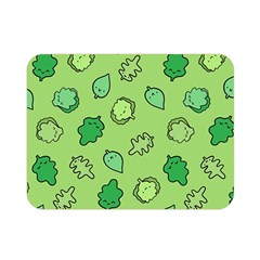 Funny Greens And Salad Double Sided Flano Blanket (mini)
