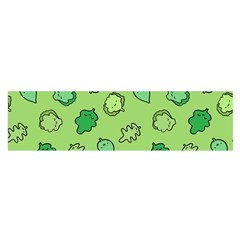 Funny Greens And Salad Satin Scarf (oblong) by Mishacat