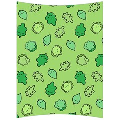 Funny Greens And Salad Back Support Cushion by Mishacat