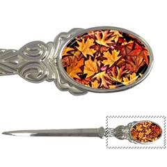 Fall Leaves Pattern Letter Openers