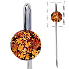 Fall Leaves Pattern Book Mark