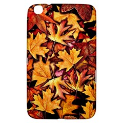 Fall Leaves Pattern Samsung Galaxy Tab 3 (8 ) T3100 Hardshell Case  by bloomingvinedesign