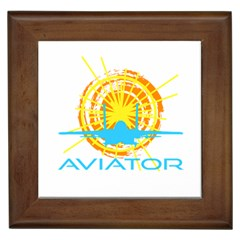 Aviator Framed Tiles by FunnyCow