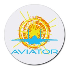 Aviator Round Mousepads by FunnyCow