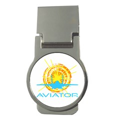 Aviator Money Clips (round)  by FunnyCow