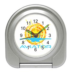 Aviator Travel Alarm Clocks by FunnyCow