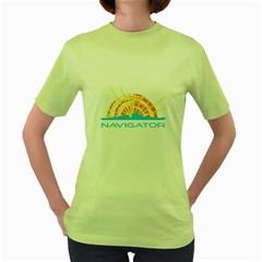 Navigator Women s Green T Shirt